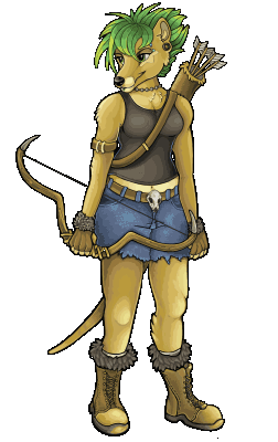 Tasmin Thylacine, Protector of the Ancient Forests.
