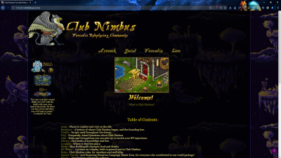 A screenshot of the new redesigned Club Nimbus website